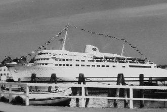 Foto: Travemünde Ostpreußenkai, 19.juni 1959, Tim Becker