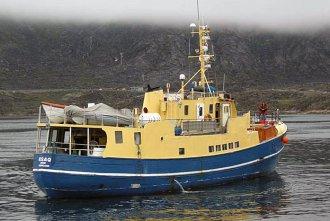 Foto af M/S Kisaq: Sisimiut, Grønland, 1. juli 2007, Nikolaj Petersen;